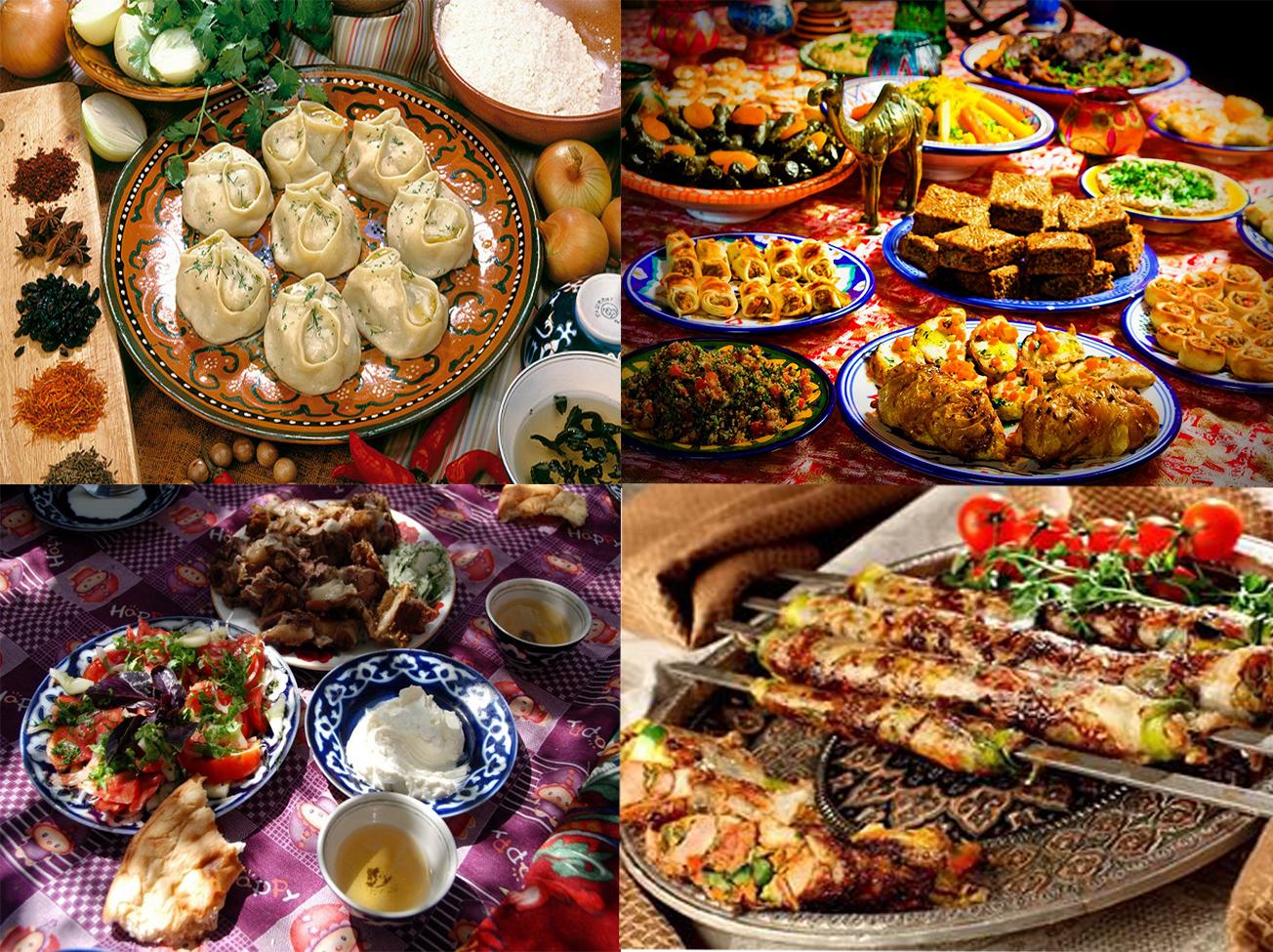 Фото блюд восточной кухни